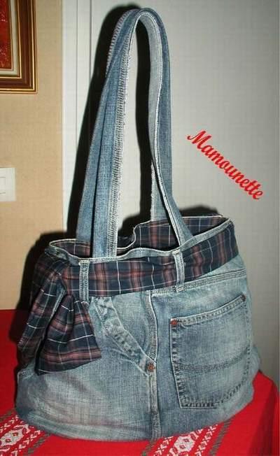 sac a main en jean fait maison sac jean a faire soi meme sac laffargue st jean luz. Black Bedroom Furniture Sets. Home Design Ideas
