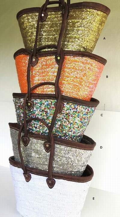 sac en osier sac cabas osier sac osier cuir. Black Bedroom Furniture Sets. Home Design Ideas
