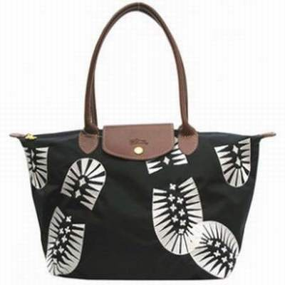 sac longchamp tissu noir boutique sac a main longchamp sac. Black Bedroom Furniture Sets. Home Design Ideas